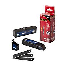 OLFA 18 Mm Ultrasharp Black Blades - 100 Pk