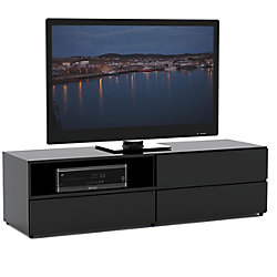 Nexera Avenue 59.75-inch x 16.75-inch x 18.75-inch TV Stand in Black