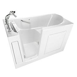 American Standard Gelcoat Soaking Walk-In Bathtub With Quick Drain