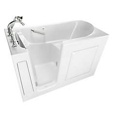 Gelcoat Soaking Walk-In Non Whirlpool Bathtub With Quick Drain