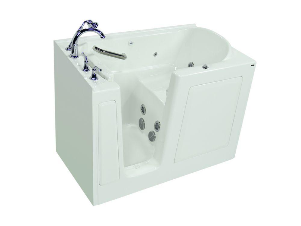 32 X 38 Right Door White Soaking Walk In Bathtub Hd3238rws