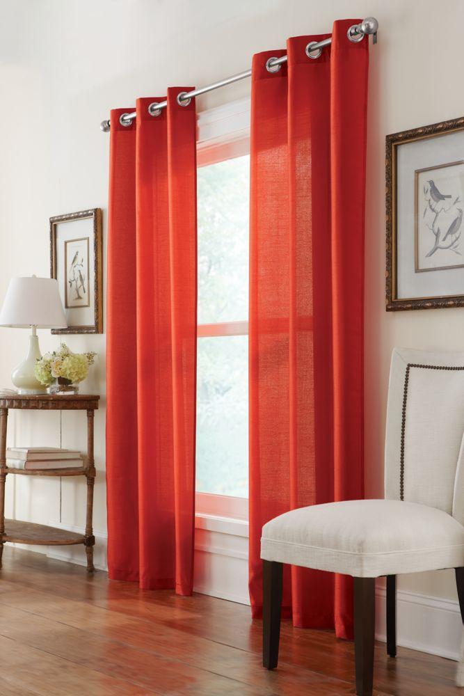 Ensemble de 2 panneaux à �illets, rouge, 76 x 108