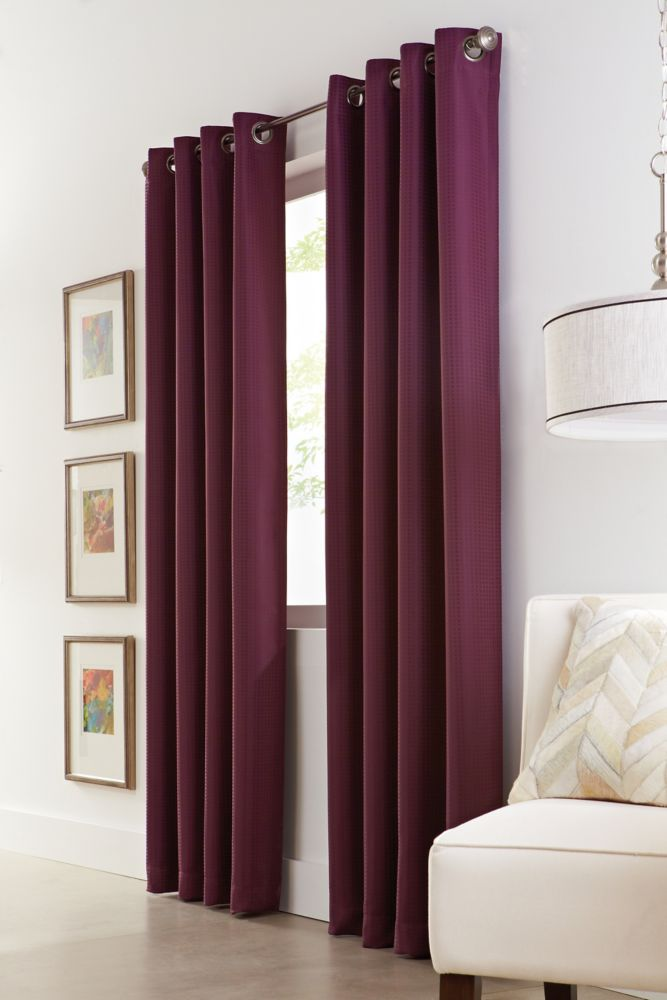 Curtains Amp Drapes The Home Depot Canada