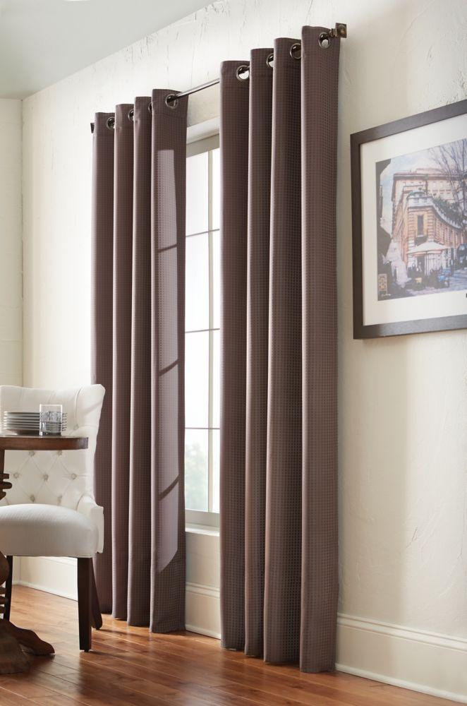 Panneau à �illets, marron, 54 x 108