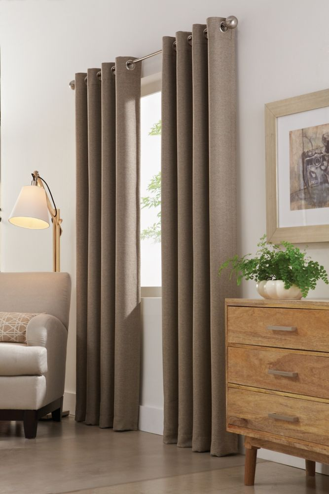 curtains striped dupioni aurora blackout home panel sheer long top inch of semi designs grommet curtain com beautiful shower