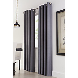 Home Decorators Collection Grommet, Charcoal, 54 X 108