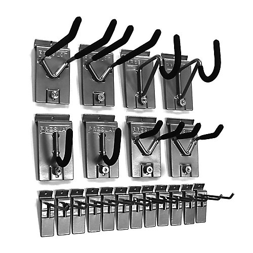 Wall Storage Solutions Hook Kit (20-Piece)