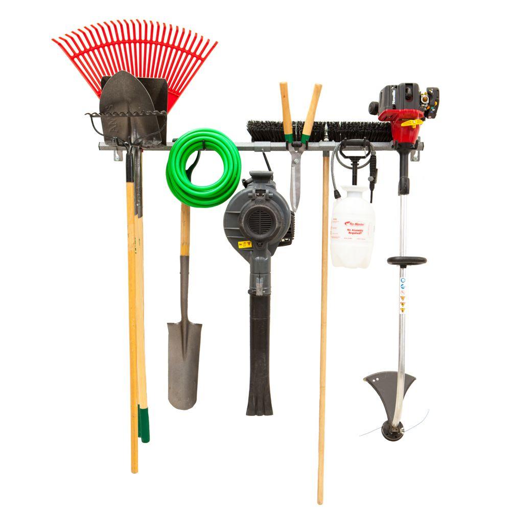 petit ensemble de rangement pour outils de jardin