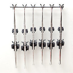 Ski Storage Rack (Holds 6 Pair)