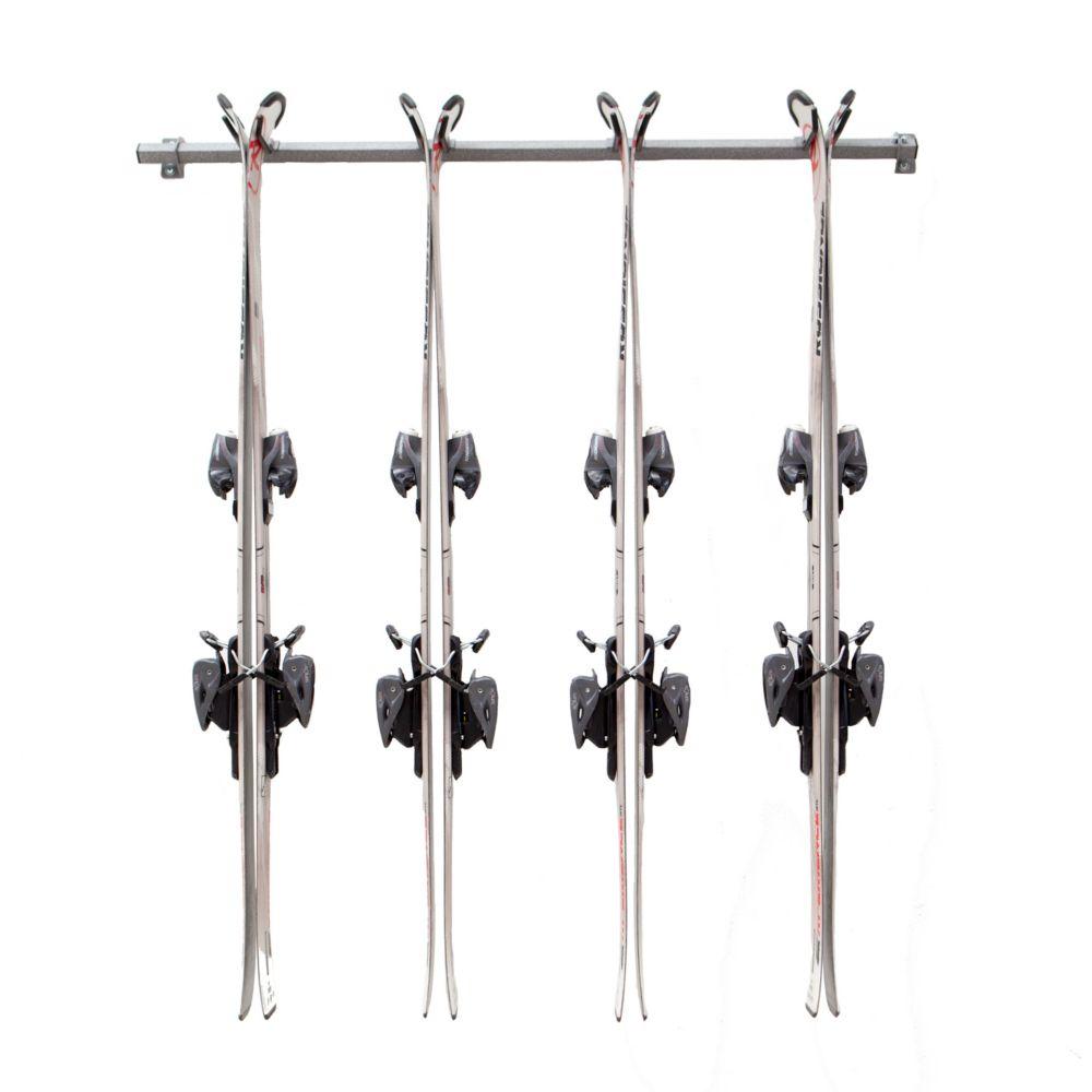 monkey bars ensemble de rangement pour ski alpin multiple 4 pairs home depot canada. Black Bedroom Furniture Sets. Home Design Ideas