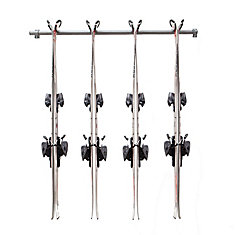 Ski Storage Rack (Holds 4 Pair)