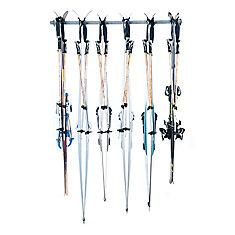 ensemble de rangement pour ski de fond multiple (6 pairs)
