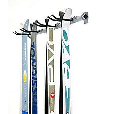 ensemble de rangement pour ski de fond multiple (4 pairs)