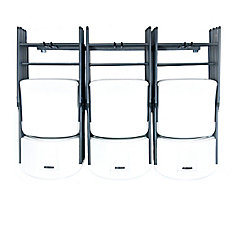 Large Folding Chair Rack