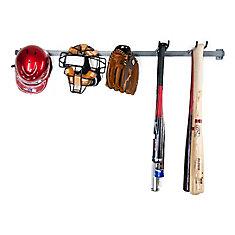 grand ensemble de rangement pour le baseball
