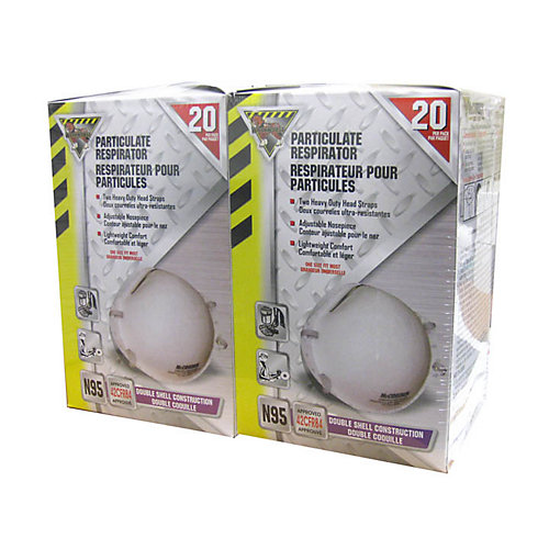 N95 Mask Disposable 2 Boxes Of 20