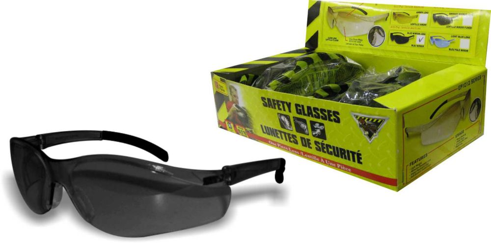 35aa60ee22 Workhorse Smoke Lens Safety Glasses Box 12
