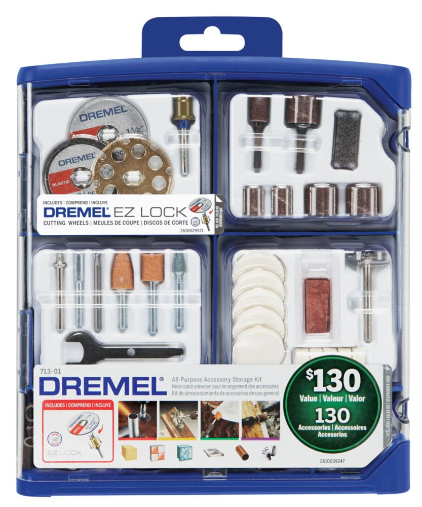Dremel 130 PC All-Purpose Accessory Kit