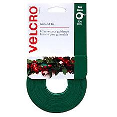 Green Garland Tie 30 ft X 1/2inch Gravity ft 20 ct.