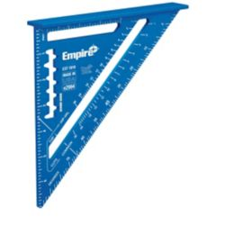 Empire Level 7-Inch Laser Etched Aluminum Rafter Square