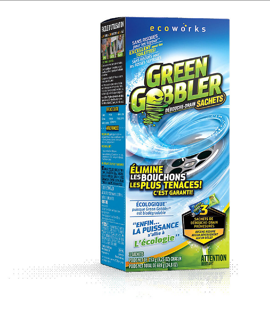 233g Drain Cleaning Powder 3 Pack