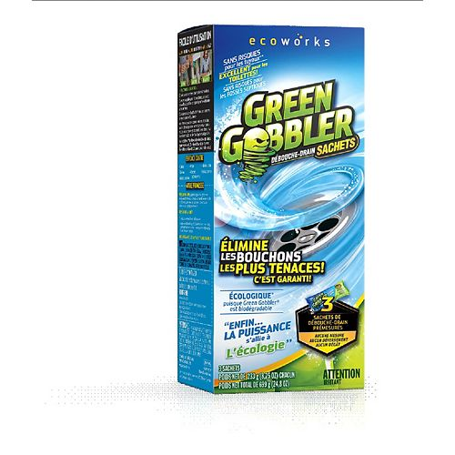 Green Gobbler 233g Drain Cleaning Powder (3-Pack)