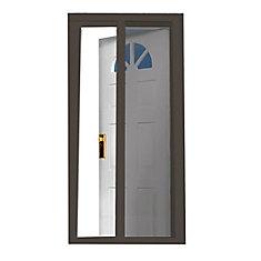 Brun 97.5 pouce Retractable Screen Door Fits Portes 95 pouce to 96.5 pouce