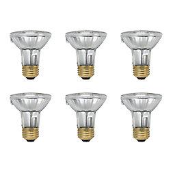 Philips EcoVantage Ampoule éconergétique-Halogène Projecteur d'intérieur-PAR 20- 39 W - Cas de 6 Ampoules