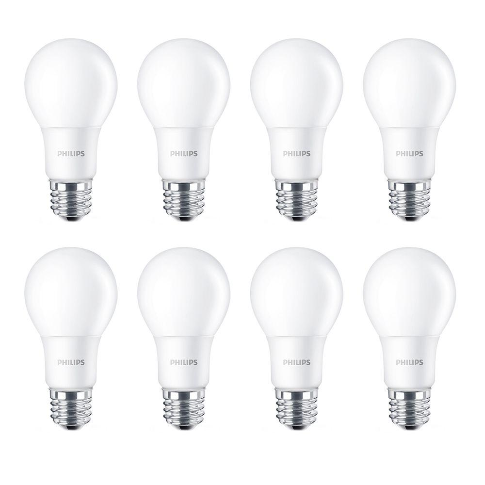 DEL domestique 60 W - Cas de 8 Ampoules