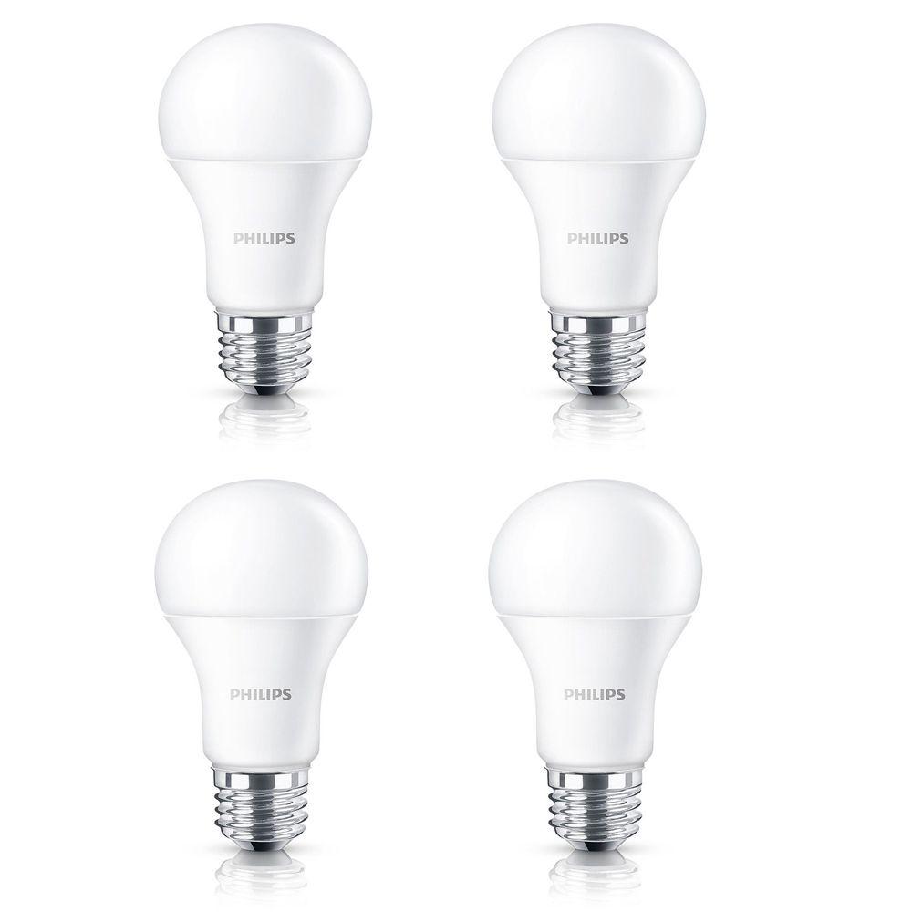 DEL domestique 100 W - Cas de 4 Ampoules