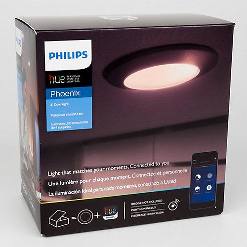 Plafonnier intensif 4 po   DEL Philips  Hue