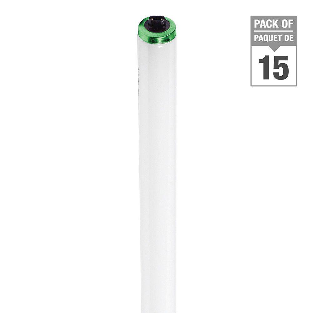 Fluorescent Linéaire T12 60 W - à flux élevé  48 po Blanc froid HO - Cas de 15 Ampoules