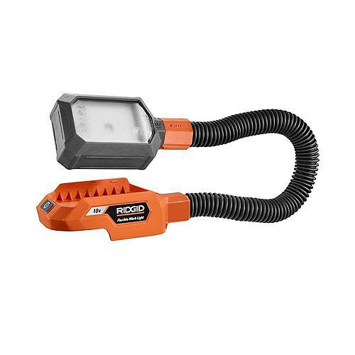 RIDGID GEN5X 18V Flexible Dual-Mode LED Portable Work Light