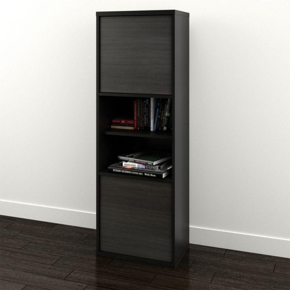 Sereni-T 2-Door Bookcase from Nexera