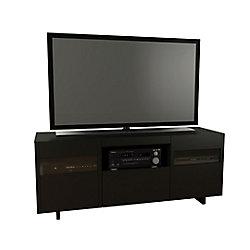 Nexera Meuble téléviseur Vision, 59,75po x 24,25po x 18,25po, noir