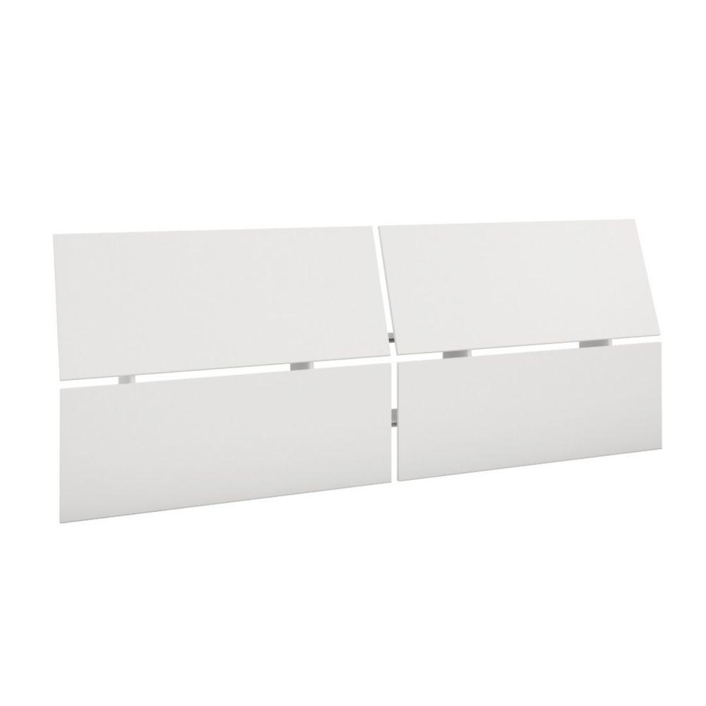 Tête de lit double panoramique 345303 de Nexera, Blanc