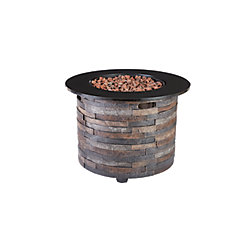 Round Outdoor Fire Pit Table