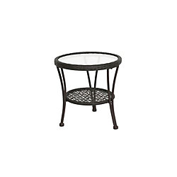 Hampton Bay Arthur Patio Side Table
