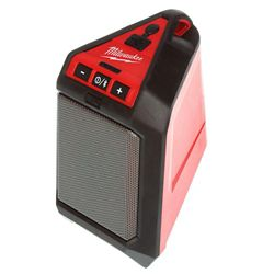 Milwaukee Tool M12 12V Lithium-Ion Cordless Bluetooth Wireless Jobsite Speaker (Tool-Only)