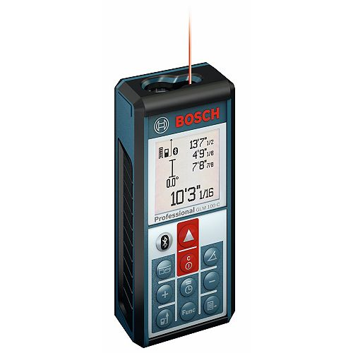 Bosch Laser Measure with Bluetooth Wireless Technology