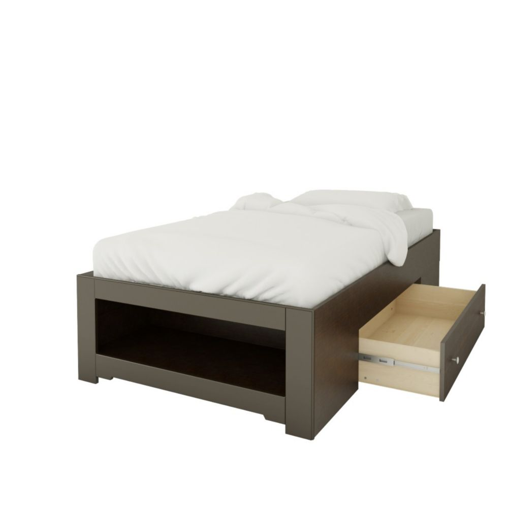 nexera lit rangement simple 1 tiroir dixie de nexera home depot canada. Black Bedroom Furniture Sets. Home Design Ideas