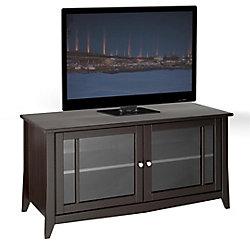 Nexera Elegance 49-inch x 24.5-inch x 21-inch TV Stand in Espresso