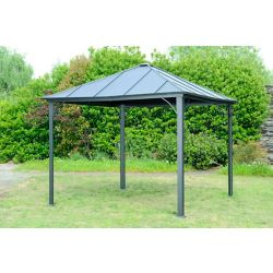Hampton Bay Mill Basin 10 ft. x 10 ft. Steel Top Gazebo