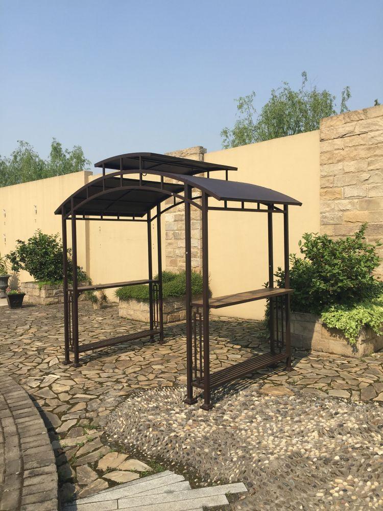 South Center Pavillon de jardin de 2,76 m x 1,52 m