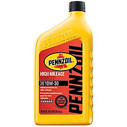 Pennzoil High Mileage Vehicle 10W30 -946 ml
