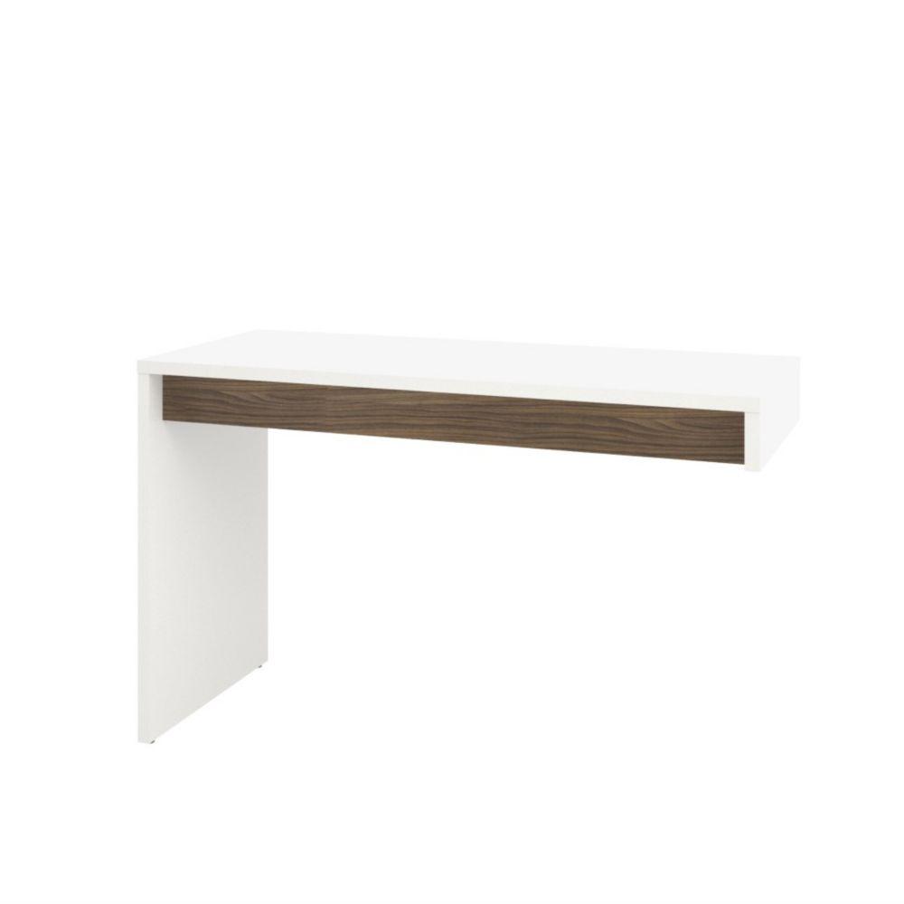 Nexera Liber T 47 75 Inch X 29 19 Standard Writing Desk In White The Home Depot Canada
