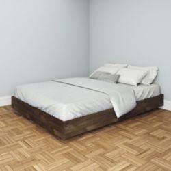 Nexera Nocce Queen Size Platform Bed from