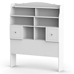 Nexera Pixel Full Size Tall Bookcase Headboard from Nexera