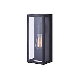 Canarm Ltd. Galia une lumière extérieure applique murale noire avec verre clair