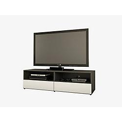 Nexera Allure 59.75-inch x 16.75-inch x 18.75-inch TV Stand in Black